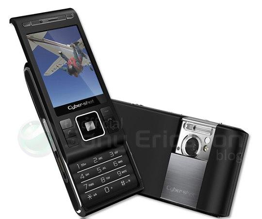 gsmarena 001 - 8 megapixel Sony Ericsson C905 Cyber-shot leaked